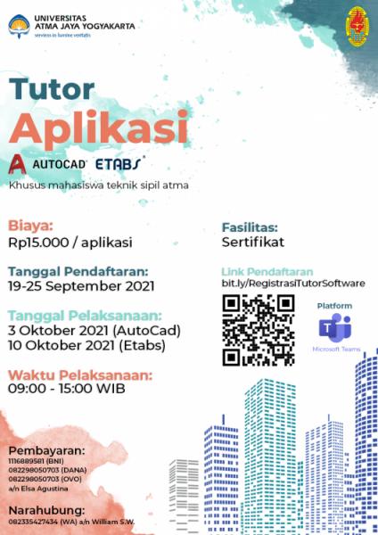 Poster tutor aplikasi